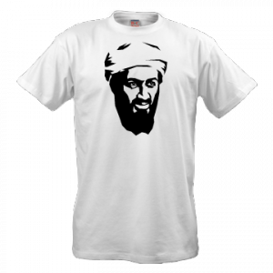 футболки с изображением Усама Бен Ладена