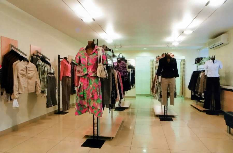 Организация магазина одежды это не