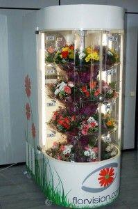 продажа цветов через автомат