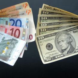 соотношение евро и доллара