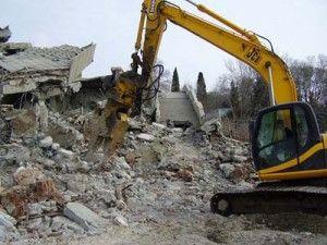 Бизнес на разрушении зданий