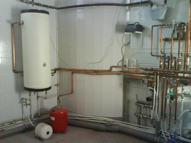 Установка закрытых систем отопления